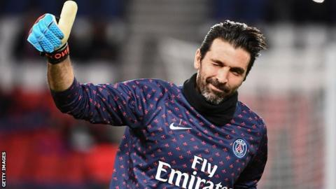 Gianluigi Buffon returns to Juventus after a year at Paris St-Germain
