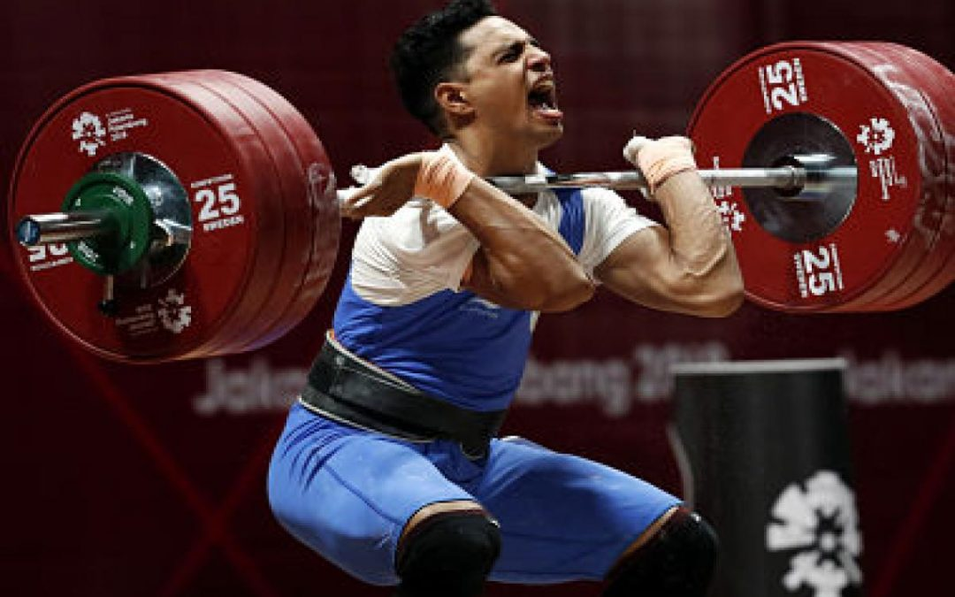 Ajay Singh lifts gold creates new Commonwealth record!