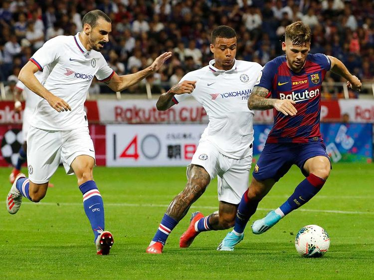Chelsea won over Barcelona in Japan friendly