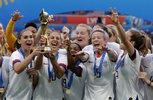 US women's soccer team wins record fourth World Cup title