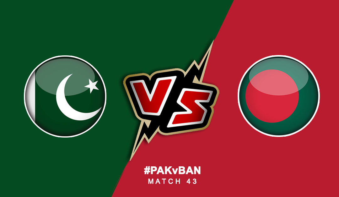 World Cup 2019: Pakistan vs Bangladesh | PlayerzPot Prediction