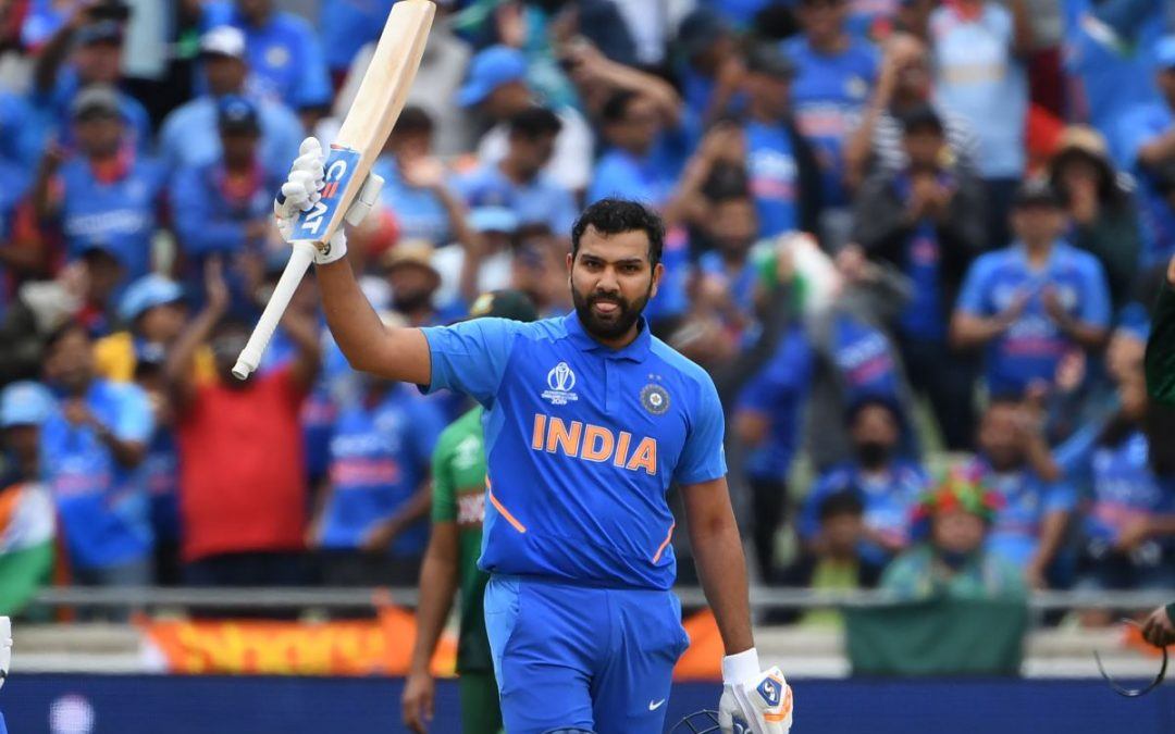 Rohit Sharma- the first Indian to score 4 hundred in a World Cup