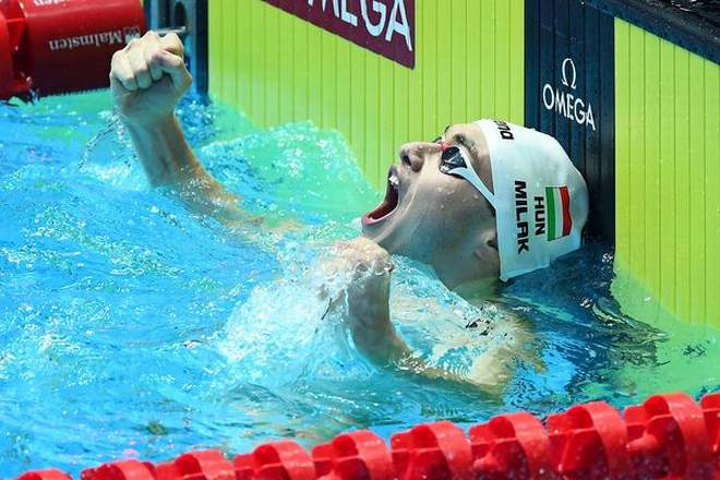 World Swimming Championship: Kristof Milak crushes Phelps' 10-year-old record