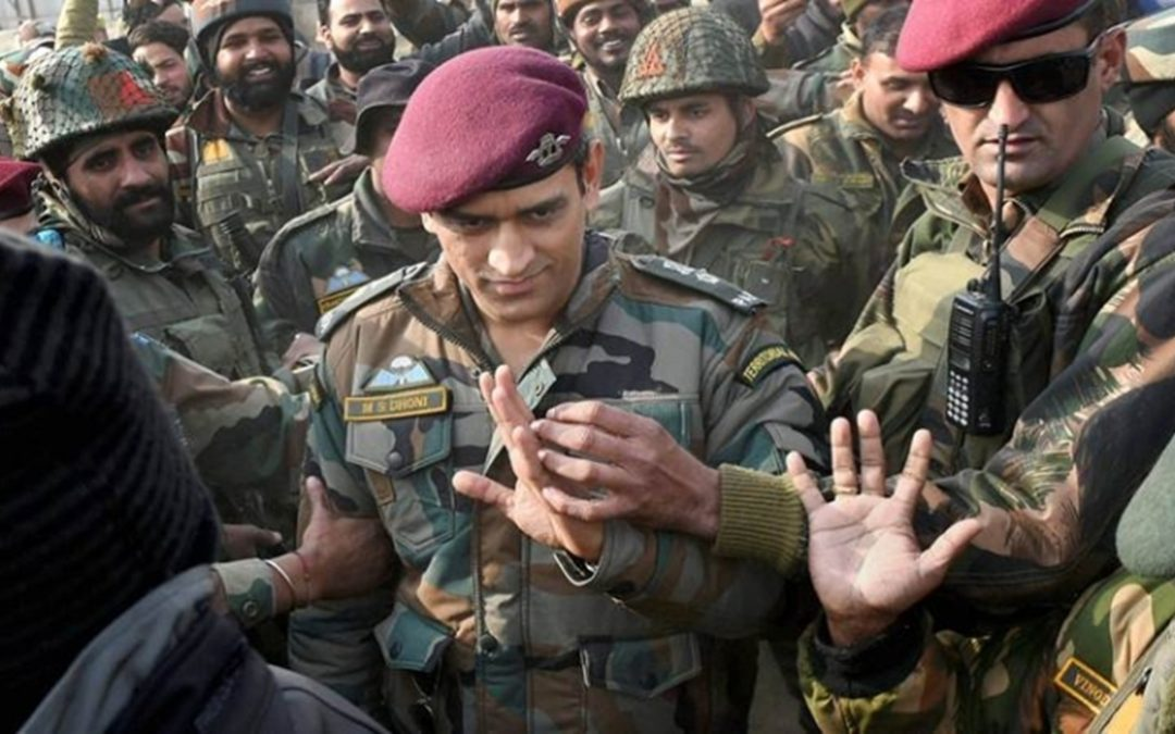 MS Dhoni fulfills the promise, begins training with the Army's Parachute Regiment