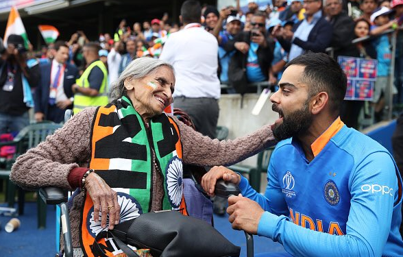 Indian Cricket's eldest fan Charulata Patel Ji proves age is just a number!