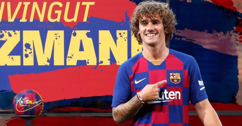 My heart is with Barcelona, says Griezmann after ugly Atletico exit