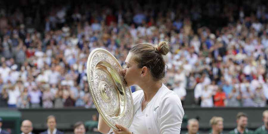 Simona Halep to receive Romania's highest distinction after Wimbledon win