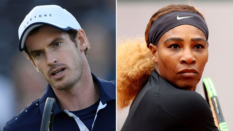 "Serena Williams says,"" I'm available"" to partner Andy Murray at Wimbledon"