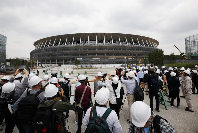 Tokyo 2020 Olympic stadium 90% complete, to open in December