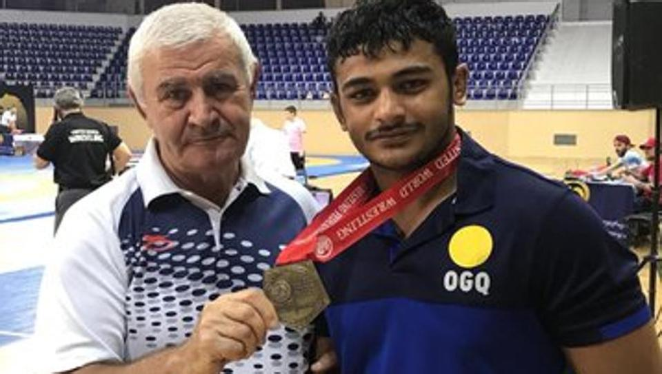 Deepak Punia becomes India's first Junior World Champion in 18 years