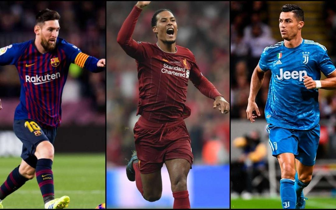 Van Dijk, Messi, and Ronaldo vie for UEFA Player of the Year award