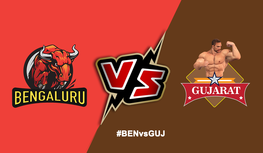 Pro Kabaddi League 2019: Bengaluru Bulls vs Gujarat Fortunegiants