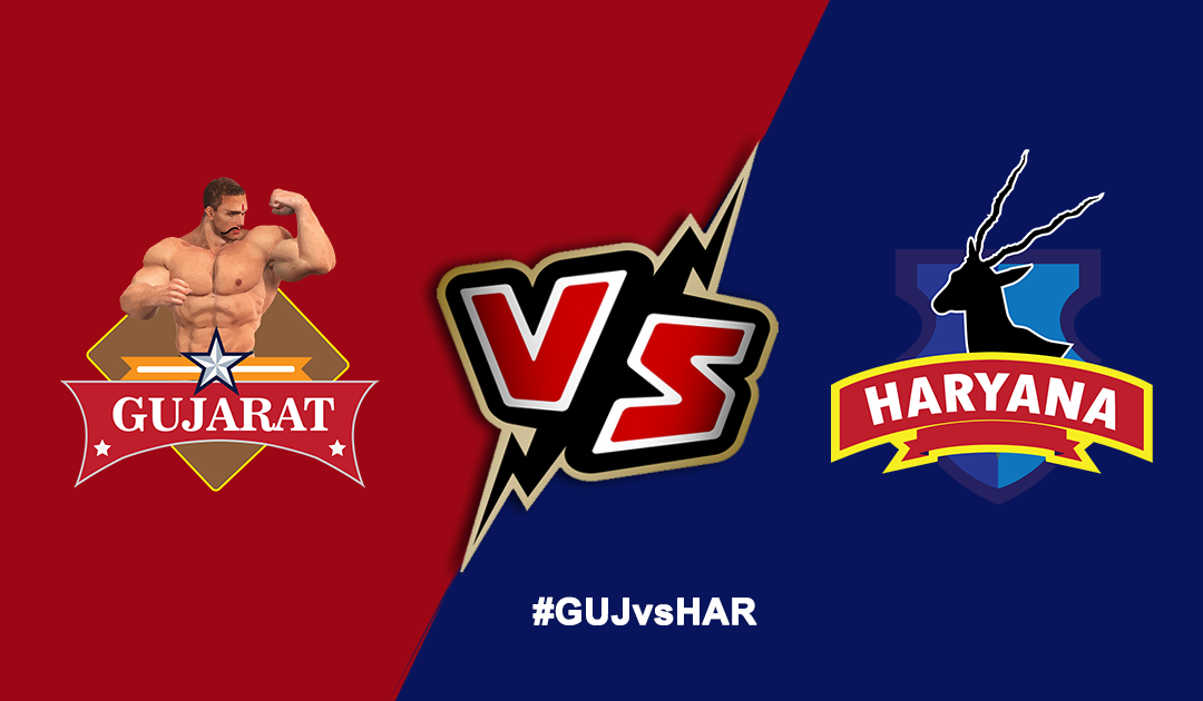 Pro Kabaddi League 2019: Haryana Steelers vs Gujarat Fortunegiants