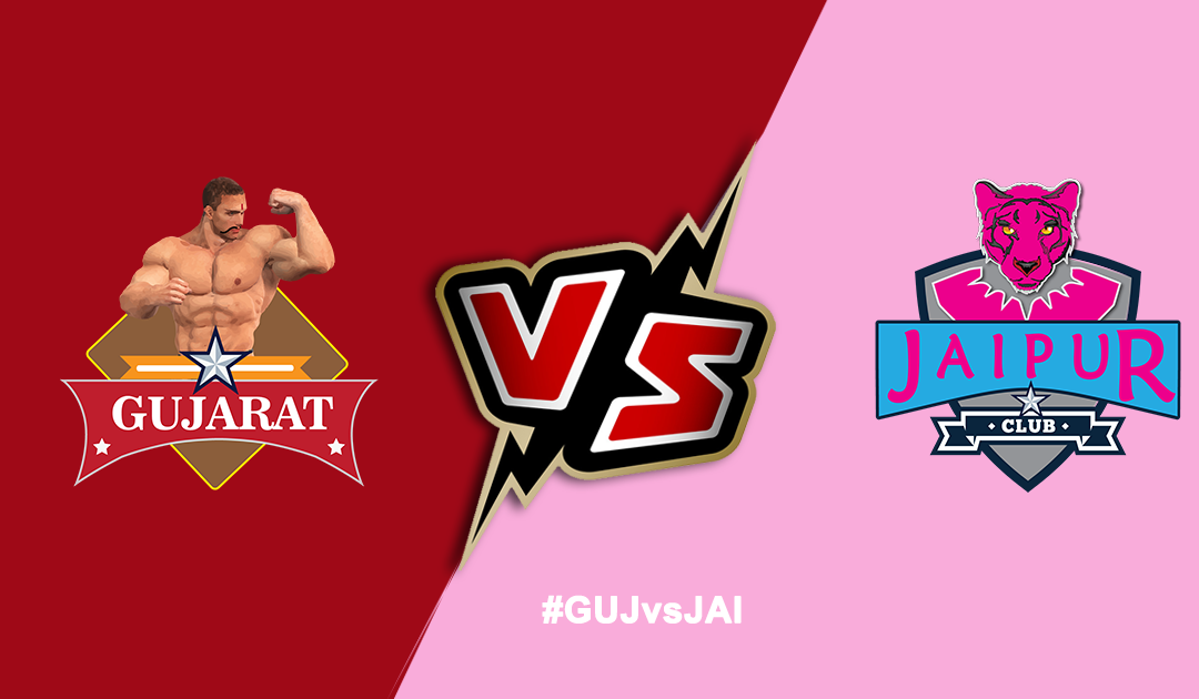 Pro Kabaddi League 2019: Gujarat Fortunegiants vs Jaipur Pink Panthers