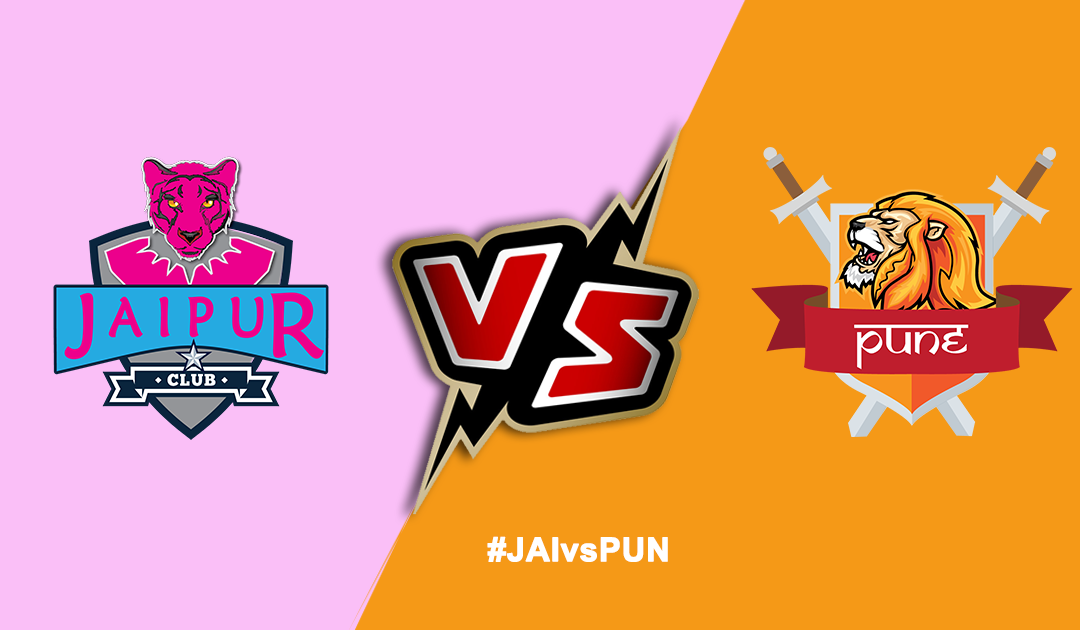 Pro Kabaddi League 2019: Jaipur Pink Panthers vs Puneri Paltan
