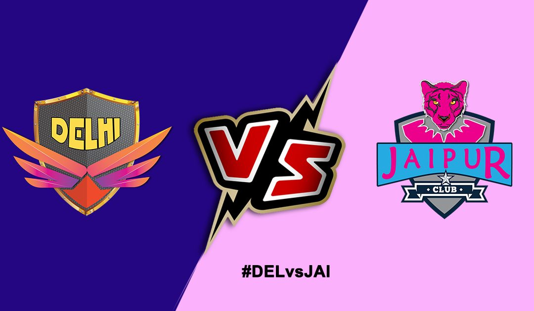Pro Kabaddi League 2019: Jaipur Pink Panthers vs Dabang Delhi KC