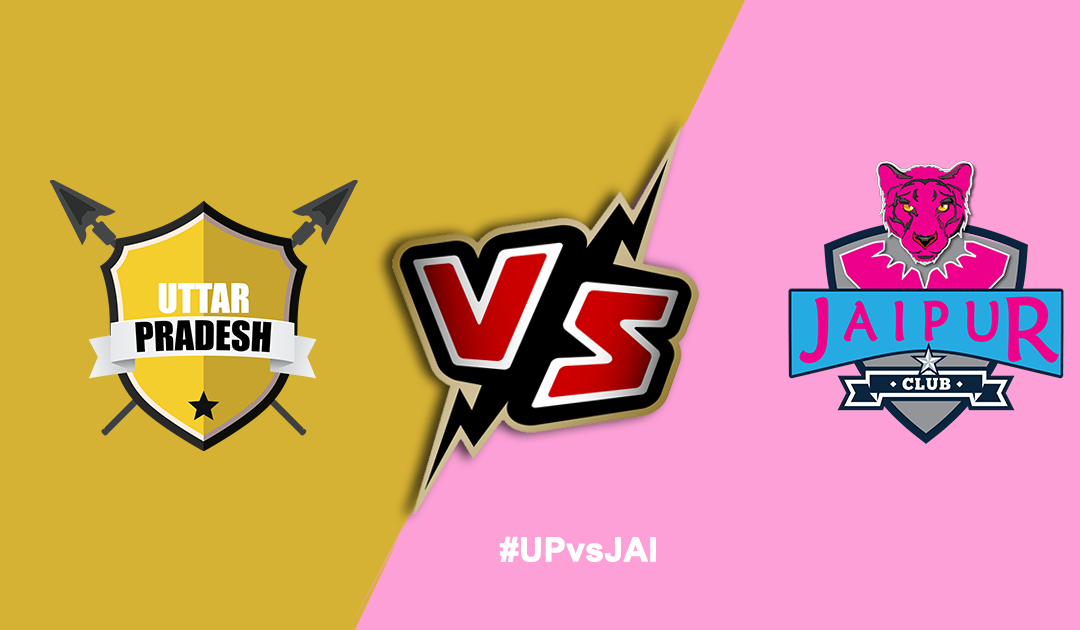 Pro Kabaddi League 2019: UP Yoddha vs Jaipur Pink Panthers