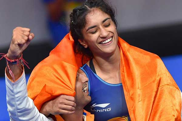 Vinesh Phogat wins third successive gold in 53kg in Poland Open!