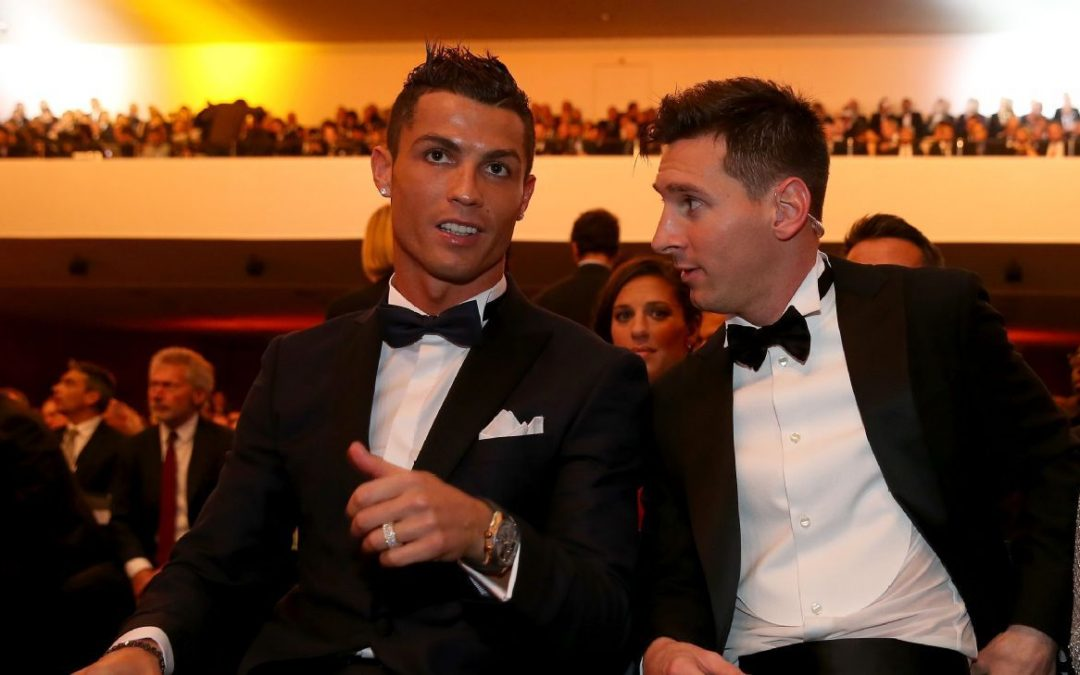 Ronaldo says he deserves more Ballon D'ors than Messi