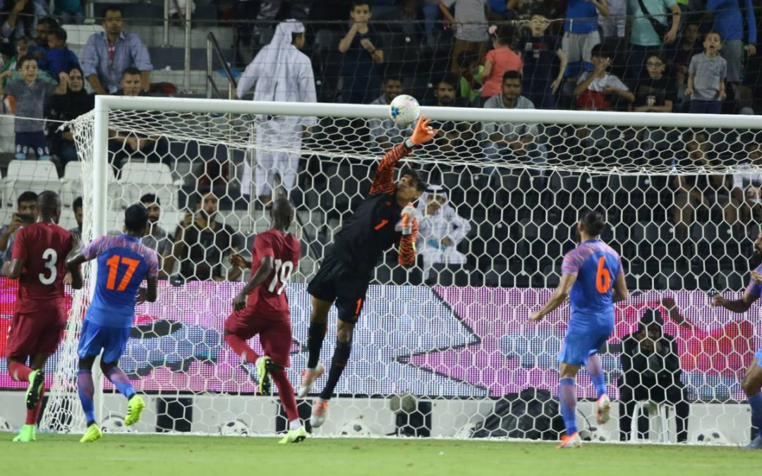 FIFA WC 2022 Qualifiers – India hold Qatar to a goal-less draw