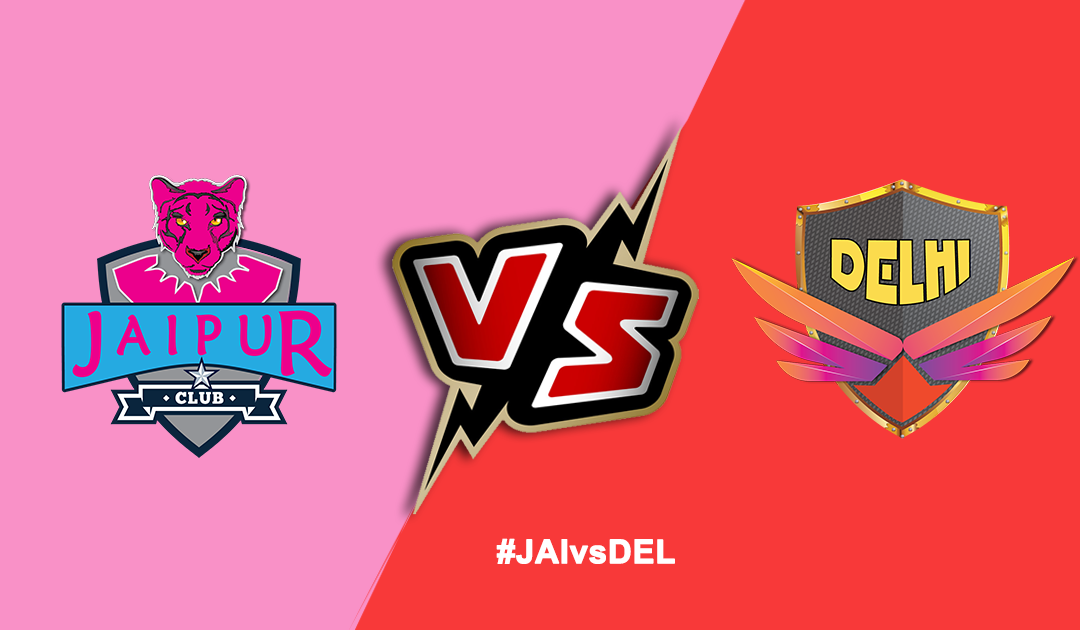 Pro Kabaddi League 2019: Jaipur Pink Panthers vs Dabang Delhi K.C.
