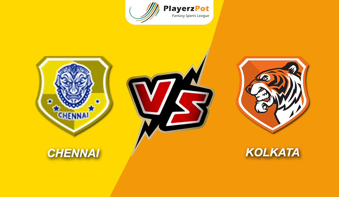 Chennai vs Kolkata– Match Preview, Predicted Line-ups, Prediction