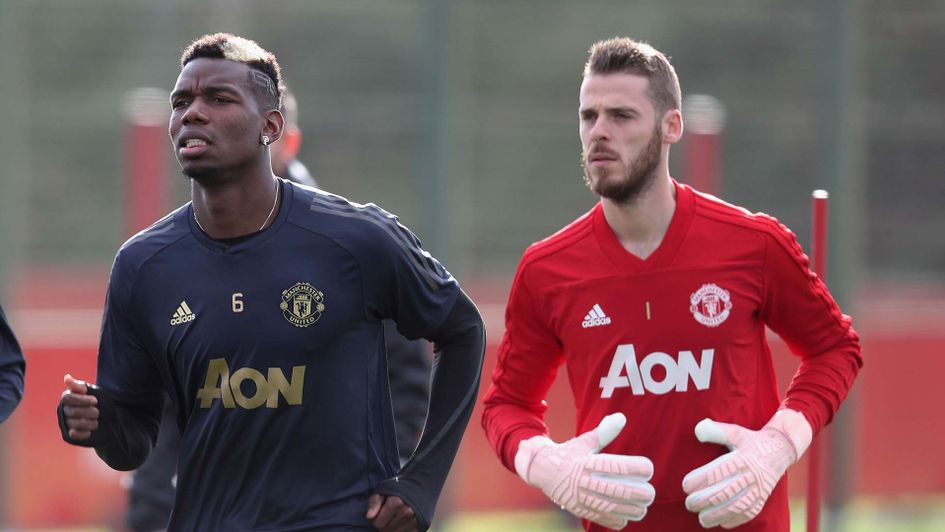 Pogba & De Gea out of Liverpool Clash
