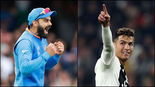 Kohli Named as Cricket World's Cristiano.