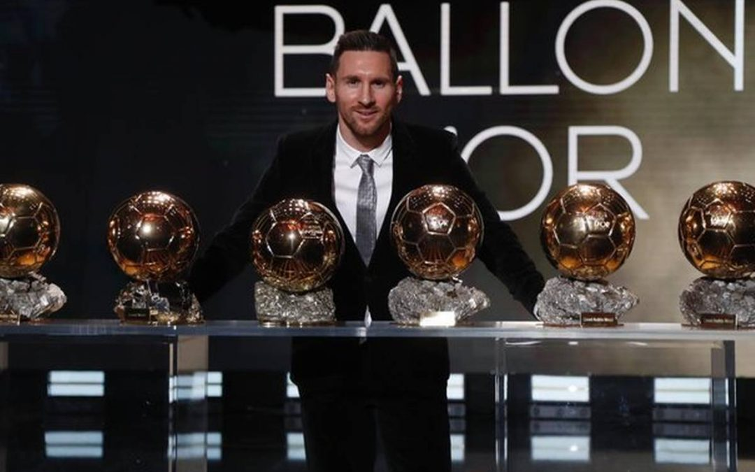 Ballon D'Or slides again into Messi's pocket.