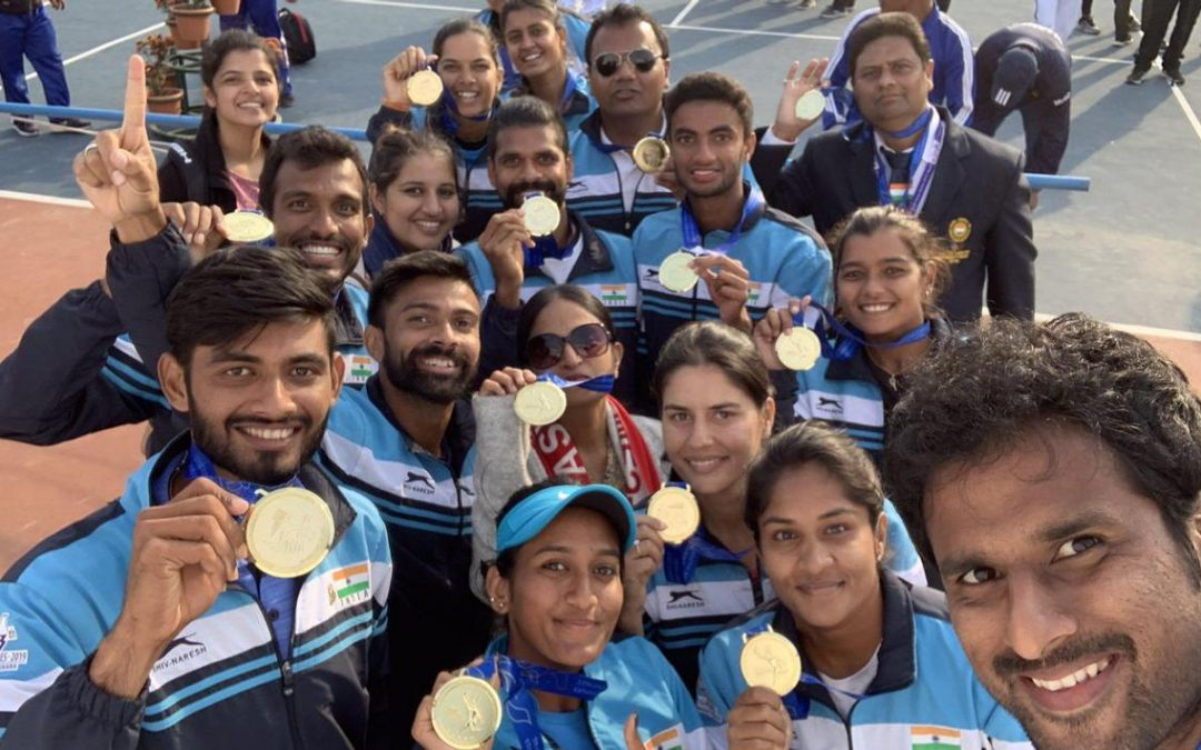 India took a gigantic leap to secure top berth in South Asian Games.