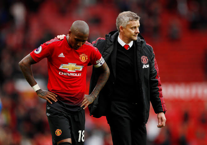 Ashley Young offered contract extension by Man Utd
