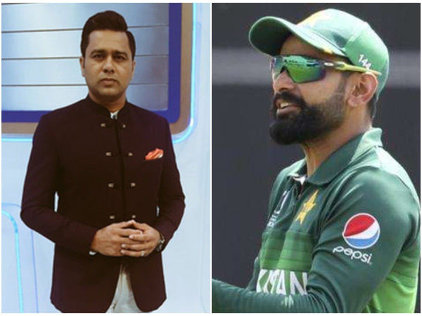 Former Indian batsmen Aakash Chopra supports Pakistani cricketer Hafeez's Voice.