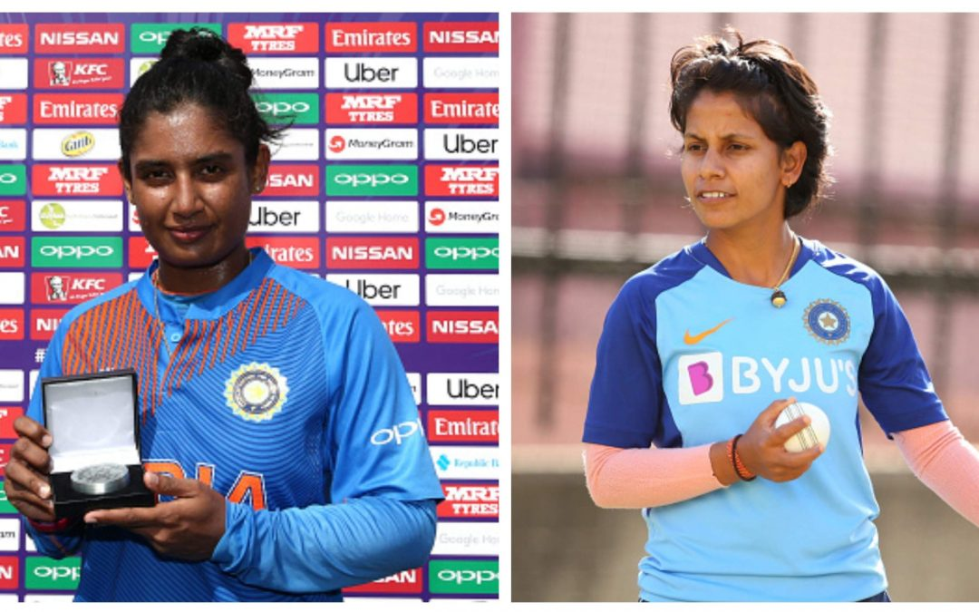 Mithali Raj and other cricketers help fight against COVID19.
