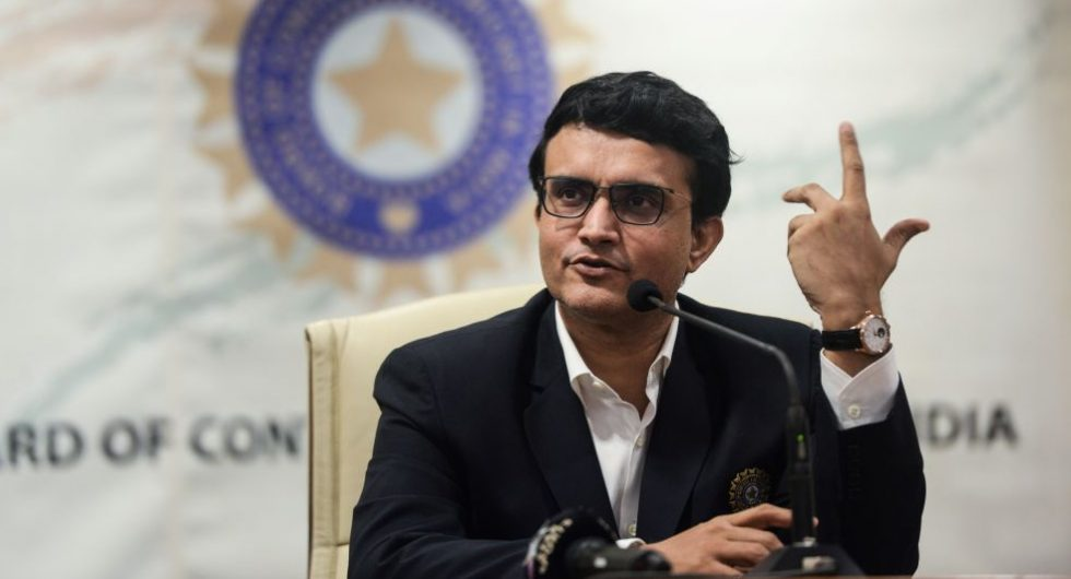 Ganguly hints cricket in India unlikely soon.