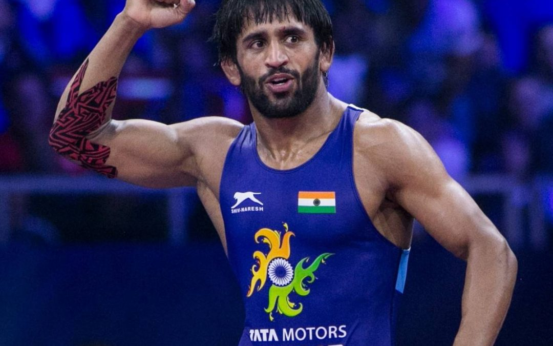 Bajrang Punia reserves top-4 seeding at Olympics .