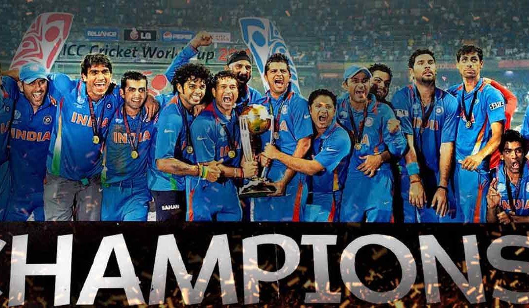 This day, that year – India lifts the 2011 World Cup.
