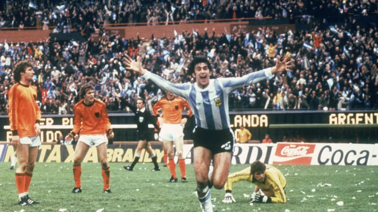 World Cup 1978; La Albicelestes' home glory