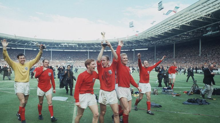 World Cup 1966; English glory on home soil