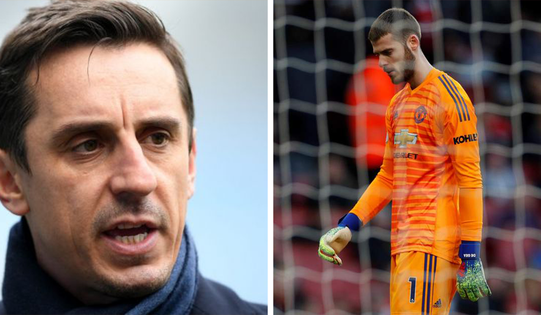 "Gary Neville urges De Gea to ""go back to basics"""
