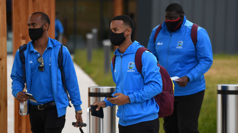 West Indies arrive in England; Holder hails step