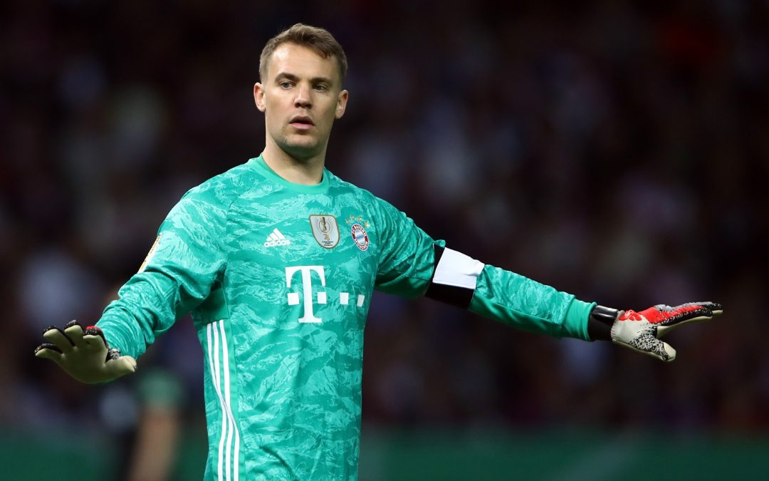 Neuer reveals what it's like to play in football's 'ghost games'.