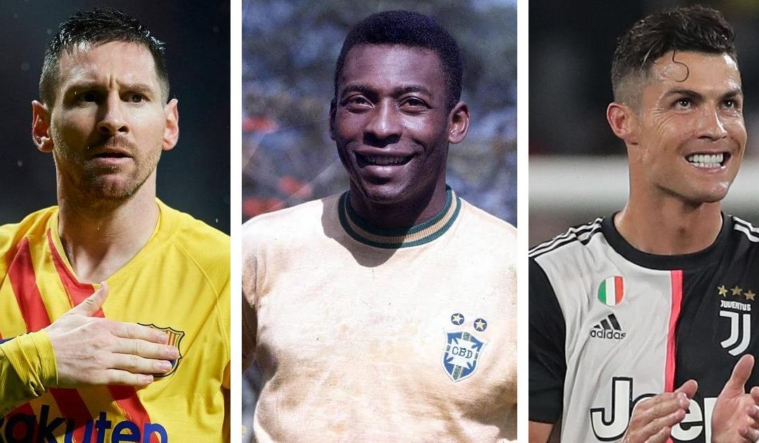 Messi & Ronaldo yet to reach Pele's level – Tostao
