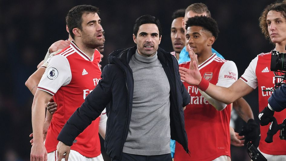 Arteta desires reinforcements to rebuild Arsenal