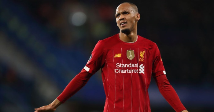 Fabinho's house burgled during trophy celebrations